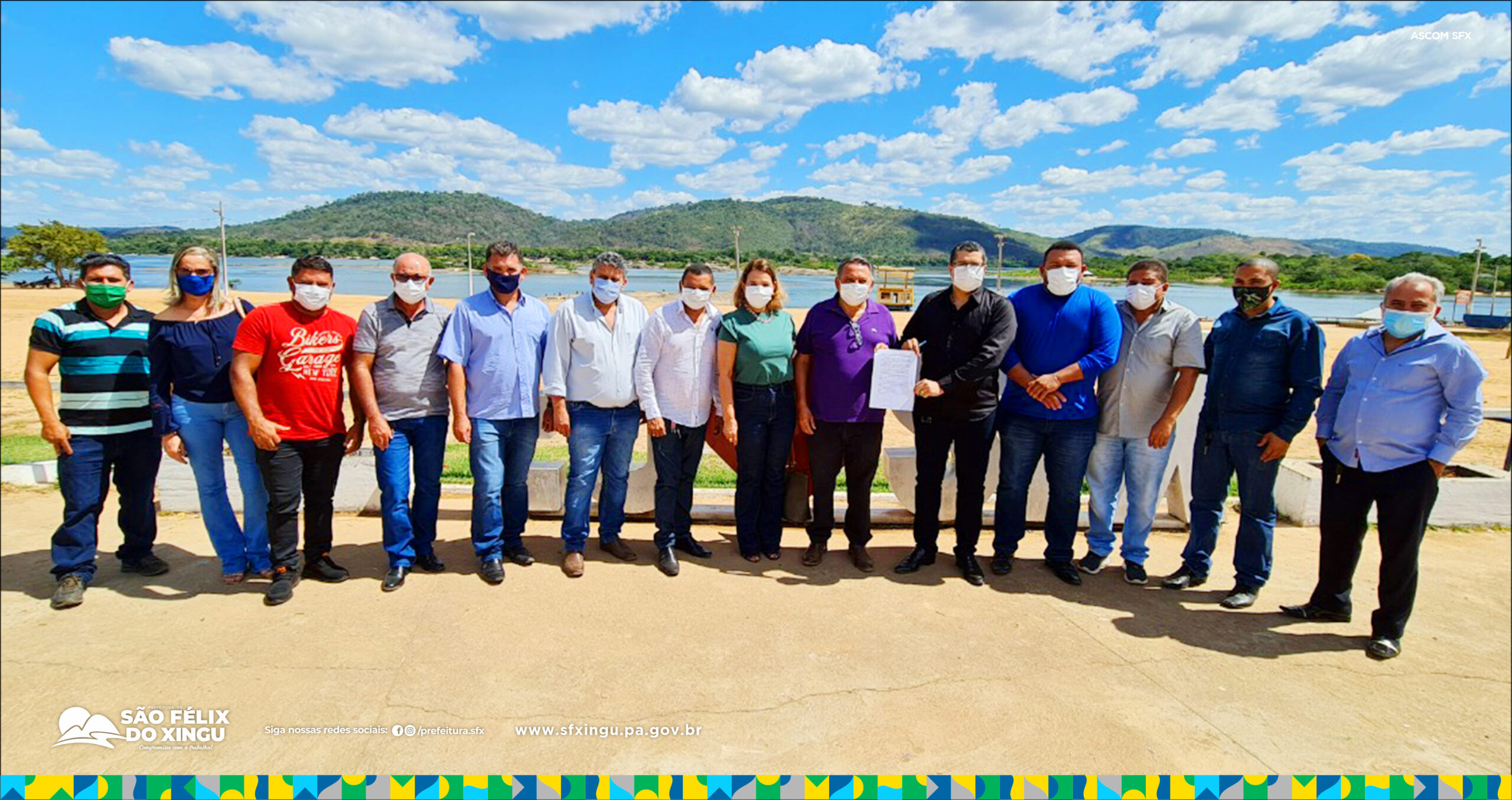 Voltas às aulas presenciais é tema de encontro com secretários  municipais de Educação da PA 279 em São Félix do Xingu!