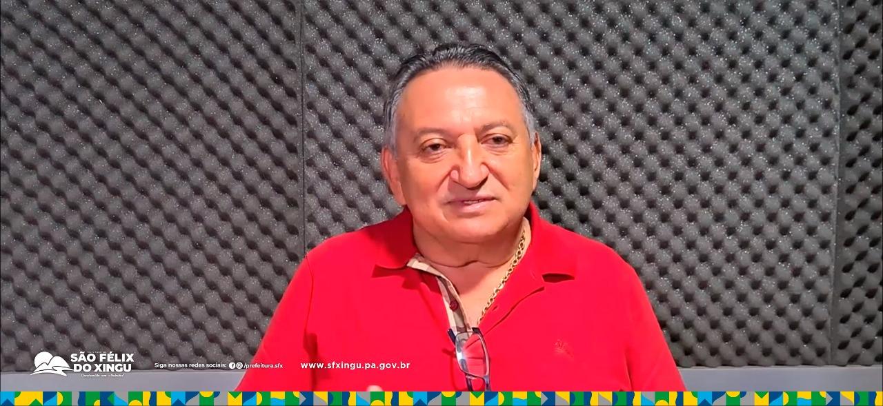 Prefeito parabeniza pelo dia dos Professores, e reconhece trabalho dos educadores em São Félix do Xingu